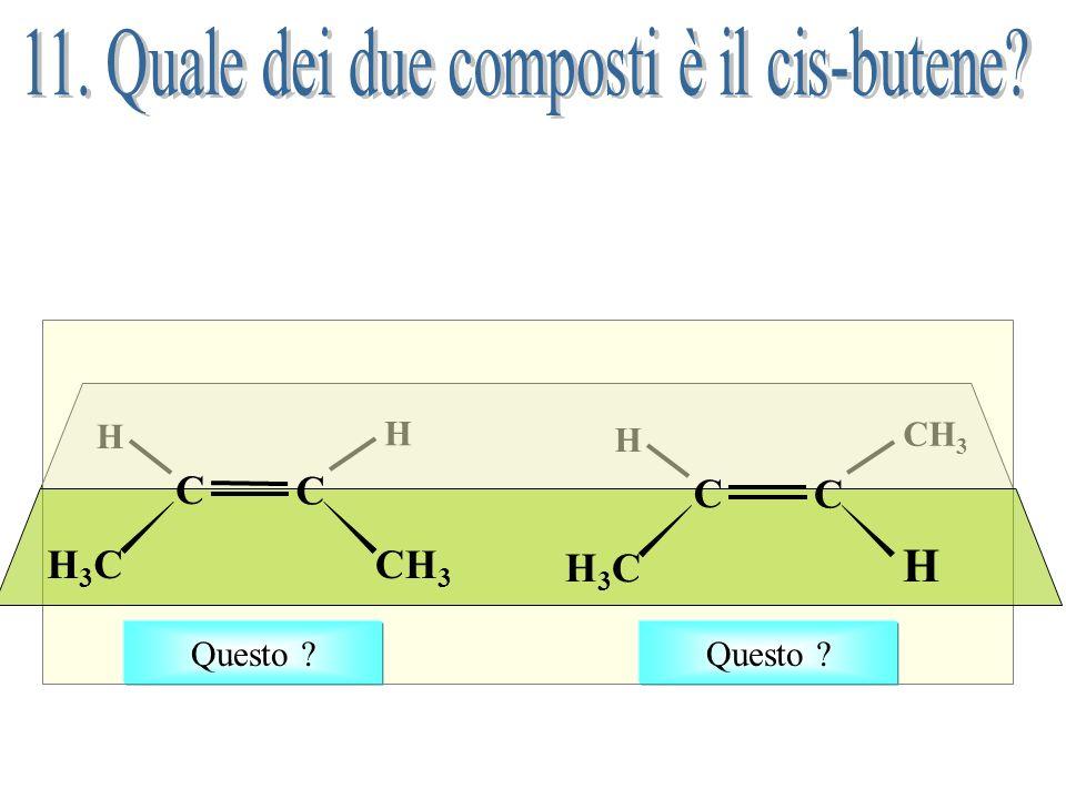 Questo era lunico alchene denominato non correttamente Questo è il nome corretto