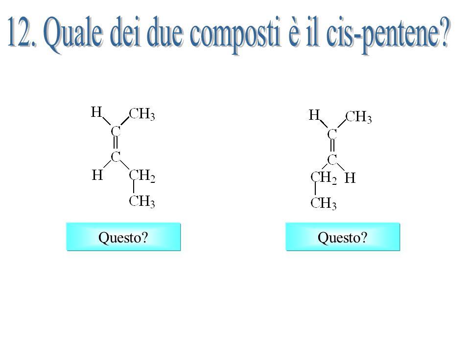 H H CH 3 H C C H3CH3C H C C H3CH3C cis-2-butene trans-2-butene