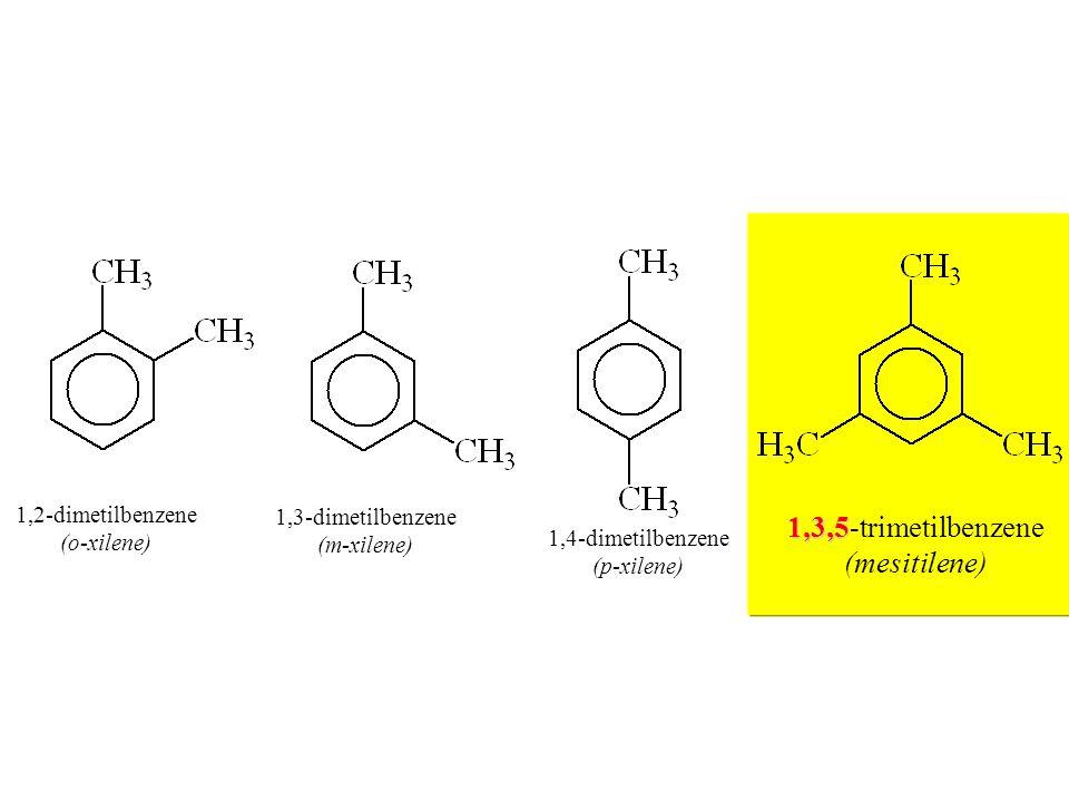 1,2-dimetilbenzene (o-xilene) 1,2-dimetilbenzene (o-xilene) 1,3-dimetilbenzene (m-xilene) 1,3-dimetilbenzene (m-xilene) 1,4-dimetilbenzene (p-xilene)
