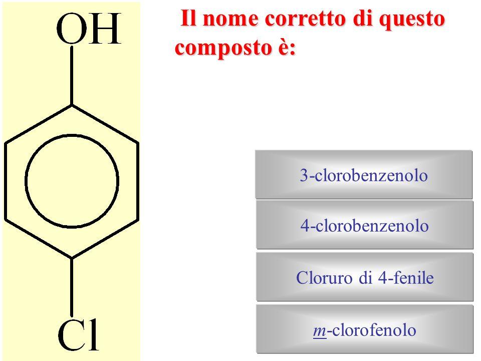 Il nome corretto di questo alcole è: Di-isobutiletanolo 3-nonanolo1,3-trimetil-2-metil-2-propanolo 2,2,4,4-tetrametil-3-pentanolo