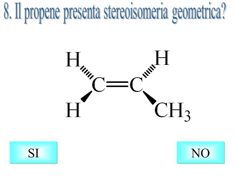 H H H H Il conformero anti è quello a minore energia perché presenta il minimo ingombro sterico