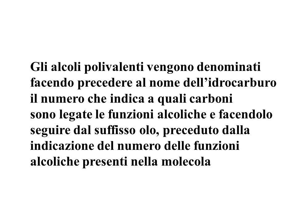 8. Il nome corretto di questo composto è: Glicole propilenico tripropanolo 1,2,3-propantriolo triossipropile