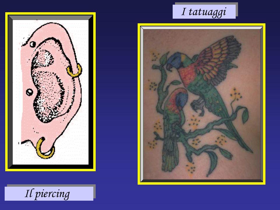 I tatuaggi Il piercing