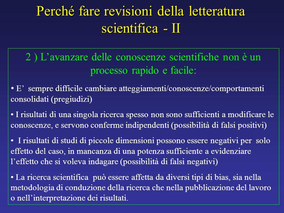 2 ) Lavanzare delle conoscenze scientifiche non è un processo rapido e facile: E sempre difficile cambiare atteggiamenti/conoscenze/comportamenti cons