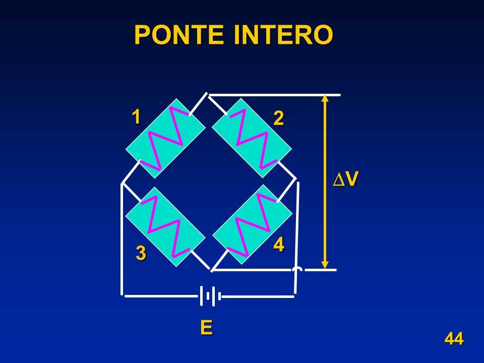 PONTE INTERO 1 2 3 4 E V 44