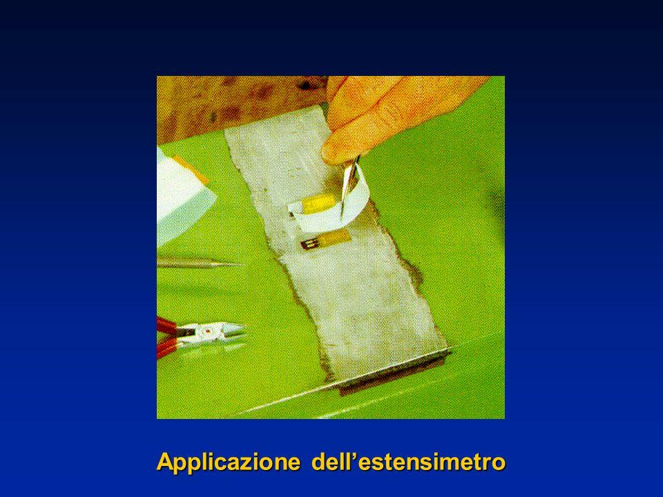 Applicazione dellestensimetro