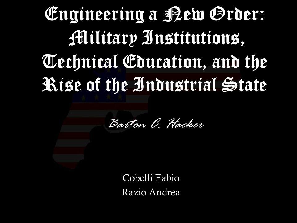 32 Ultimi anni del XX secolo: Il riordinamento dello stato industriale riempie il mondo con nuove armi, e linnovazione tecnologica militare ancora una volta promette (o minaccia) cambiamenti radicali nellordine sociale.
