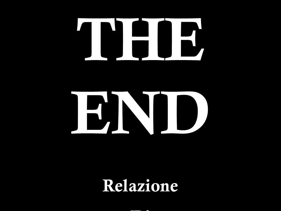 34 THE END Relazione Di Cobelli Fabio Razio Andrea