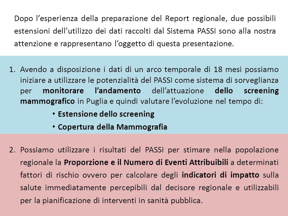 Un obiettivo di salute che si proponga di ridurre del 10% la prevalenza dei fumatori nella fascia di età 35-64 quanti morti risparmierebbe ogni anno in Puglia.