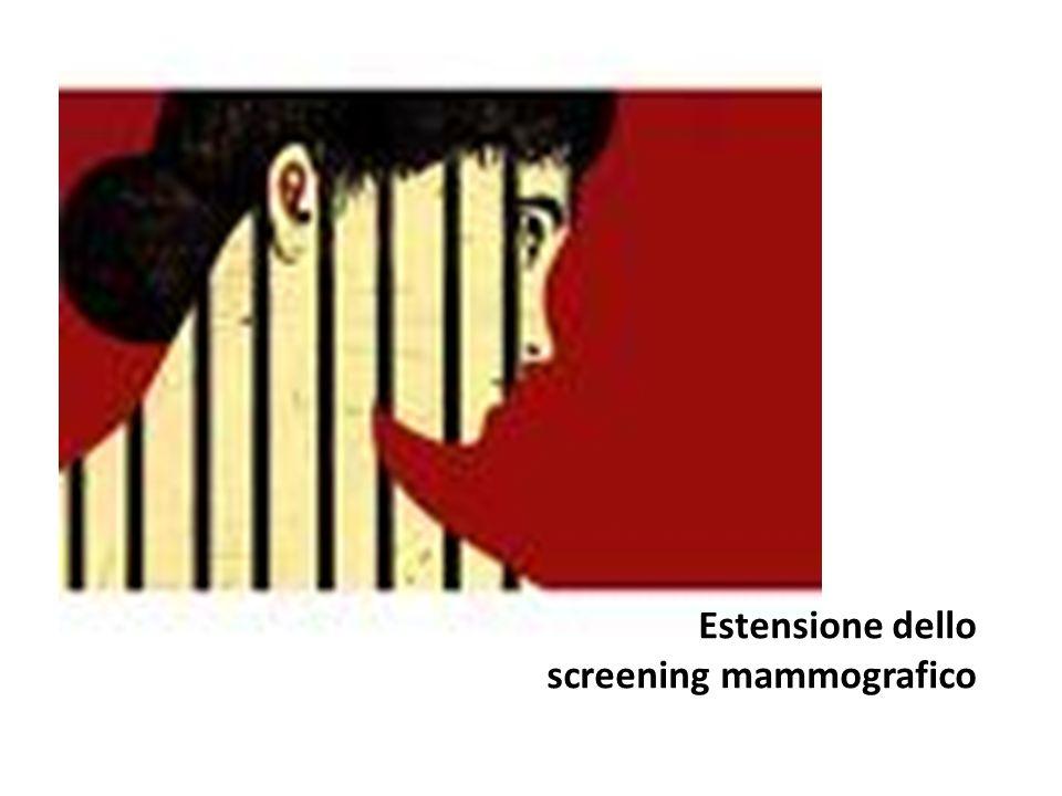 Copertura 2008 e primo semestre 2009 In Puglia, circa il 51% delle donne 50-69enni intervistate ha riferito di aver effettuato una Mammografia - in assenza di sintomi - nel corso degli ultimi due anni.