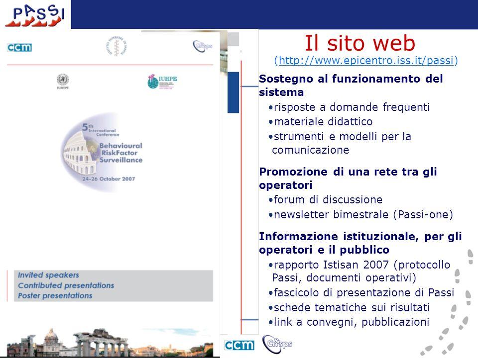 Sostegno al funzionamento del sistema risposte a domande frequenti materiale didattico strumenti e modelli per la comunicazione Promozione di una rete
