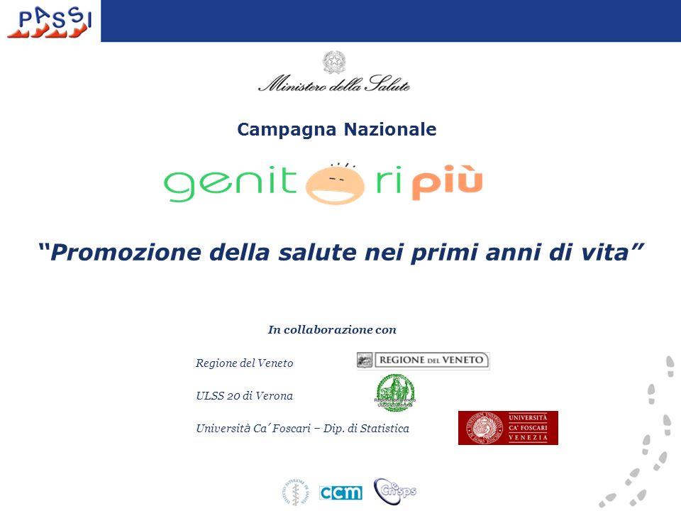 In collaborazione con Regione del Veneto ULSS 20 di Verona Universit à Ca Foscari – Dip.