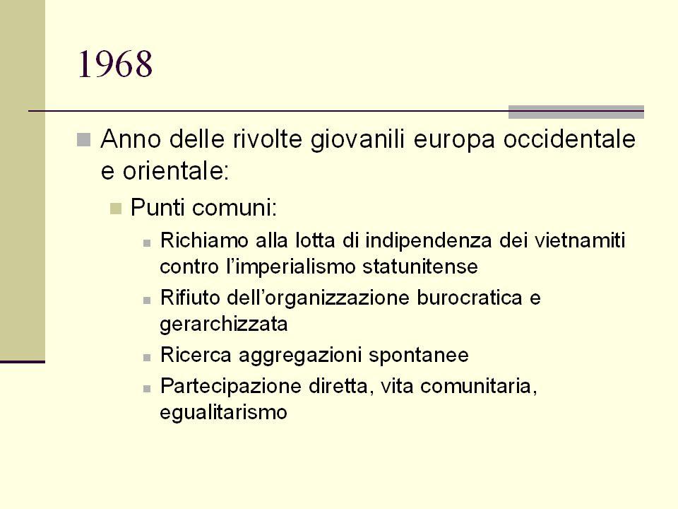 1974-19761976-1979 Riforme: –1974: sistema scolastico –1975: diritto di famiglia Elezioni 1975: –Pci: 33% –Psi: 12% –Dc:35% –Msi-Dn: 6.5% Lockheed 1975: –intervista John Volpe Opposizione degli Stati Uniti al un ingresso del Pci nel governo in quanto basilare contraddizione nel cuore della Nato Eurocomunismo Elezioni 1976: –Pci: 34.4% –Dc: 38.7Psdi-Pri: 3% –Msi: 6.1% –Radicali:1.1 –DP: 1.5 1976: –Pci: alternativa di sinistra – Psi: Craxi Governi di solidarietà nazionale –1976:Governo della non sfiducia Andreotti Pci-Psi: stesura programma –1978-79:: IV governo Andreotti Pci: area governo a Montecitorio Movimento del 77: –Indiani metropolitani –Ala militarista Lama 1977 Bologna Br: strategia di annientamento –1977: 7 assasini, 40 feriti –16 marzo 1978: rapimento Moro –9 maggio 1978: uccisione Moro