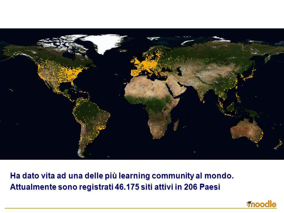 Ha dato vita ad una delle più learning community al mondo. Attualmente sono registrati 46.175 siti attivi in 206 Paesi