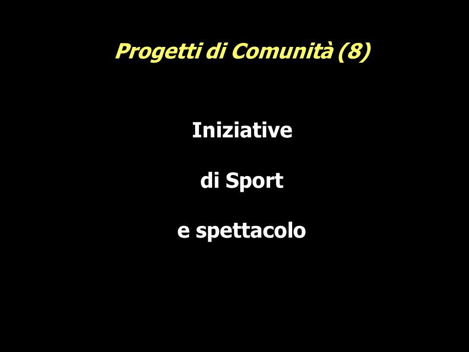 Iniziative di Sport e spettacolo Progetti di Comunità (8)