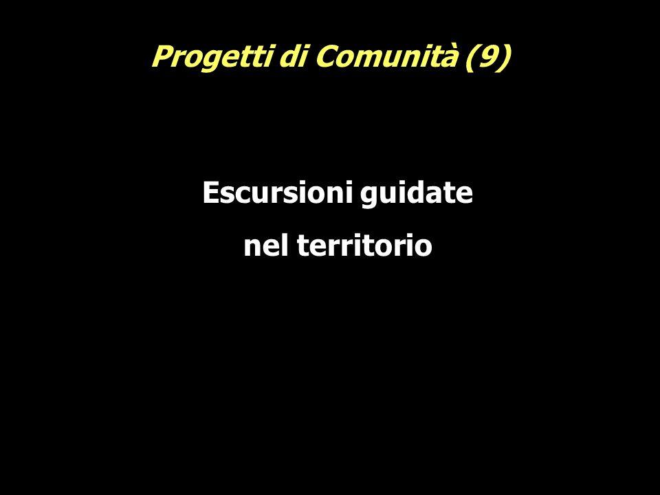 Escursioni guidate nel territorio Progetti di Comunità (9)