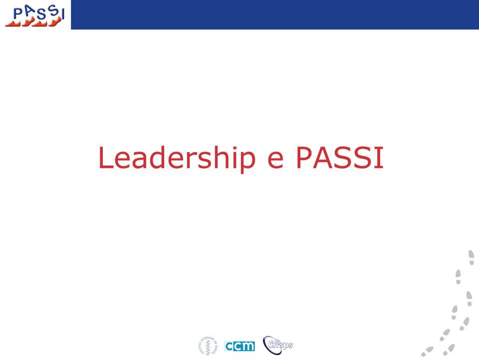 Leadership e PASSI