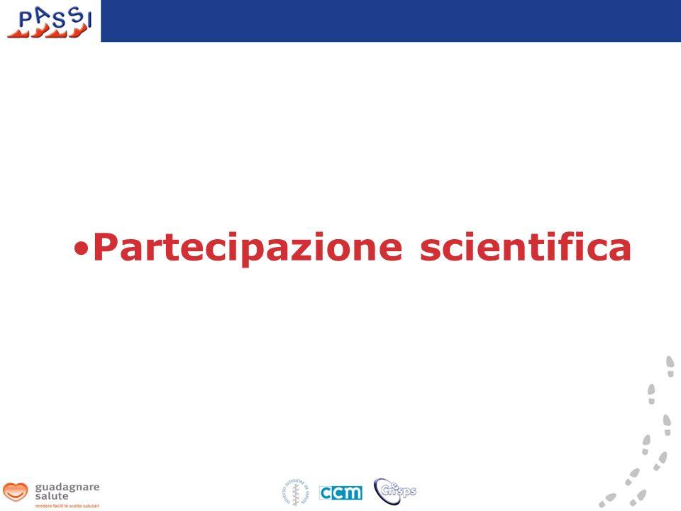 Partecipazione scientifica