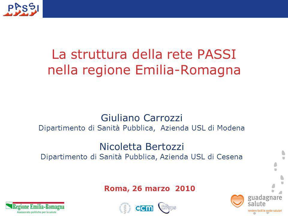 Giuliano Carrozzi Dipartimento di Sanità Pubblica, Azienda USL di Modena Nicoletta Bertozzi Dipartimento di Sanità Pubblica, Azienda USL di Cesena Rom