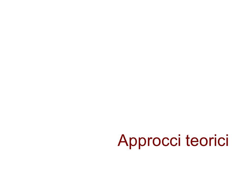 Approcci teorici