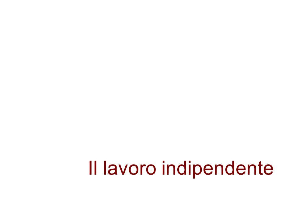 Il lavoro indipendente