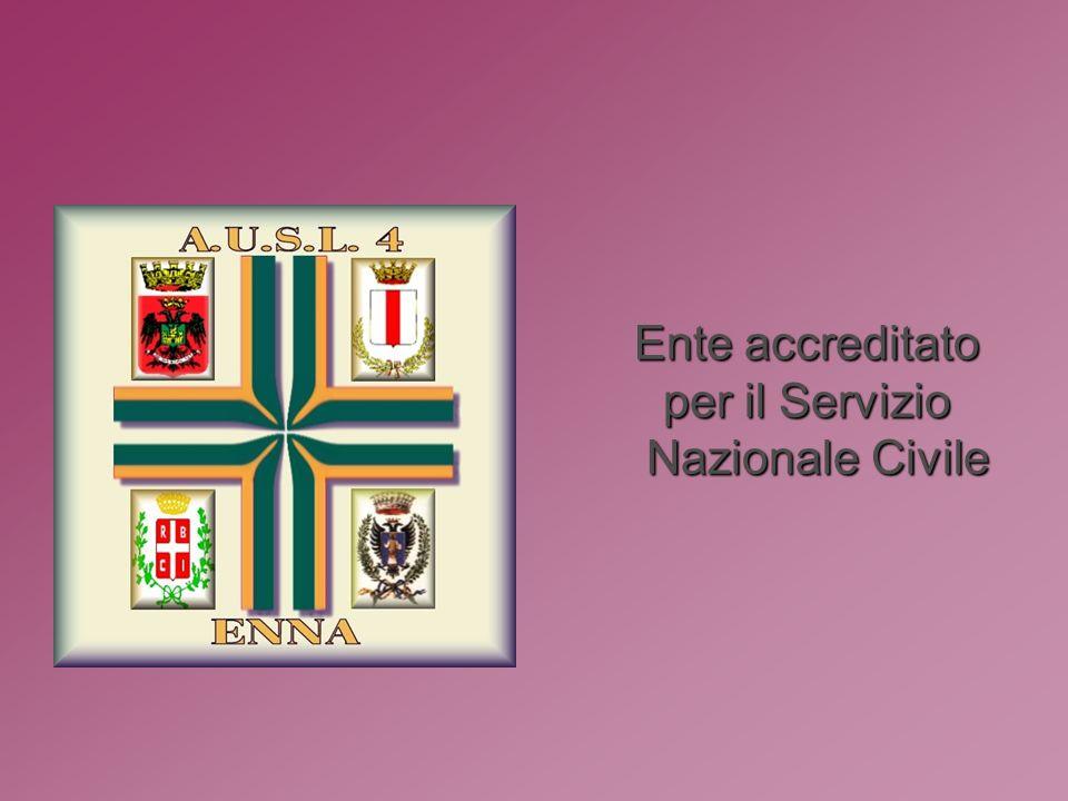 Ente accreditato per il Servizio Nazionale Civile Nazionale Civile