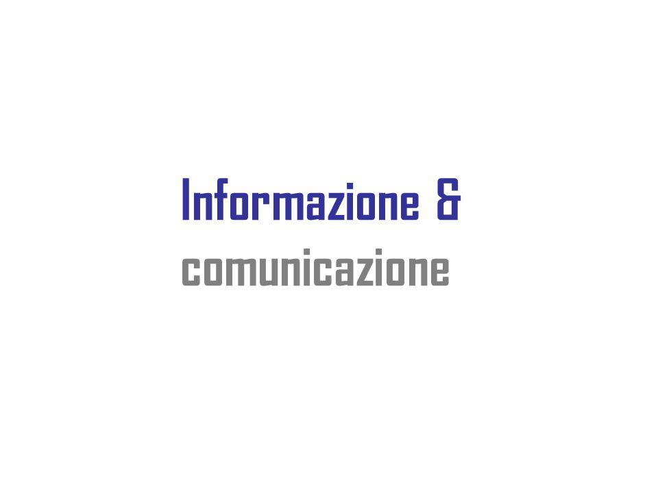 Informazione & comunicazione
