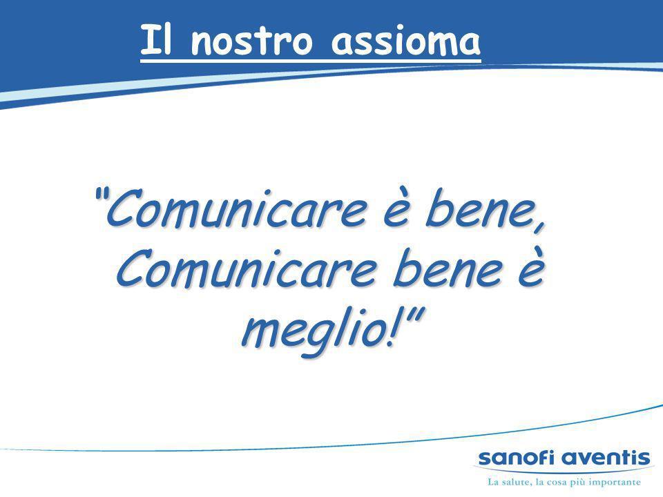 Il nostro assioma Comunicare è bene, Comunicare bene è meglio!
