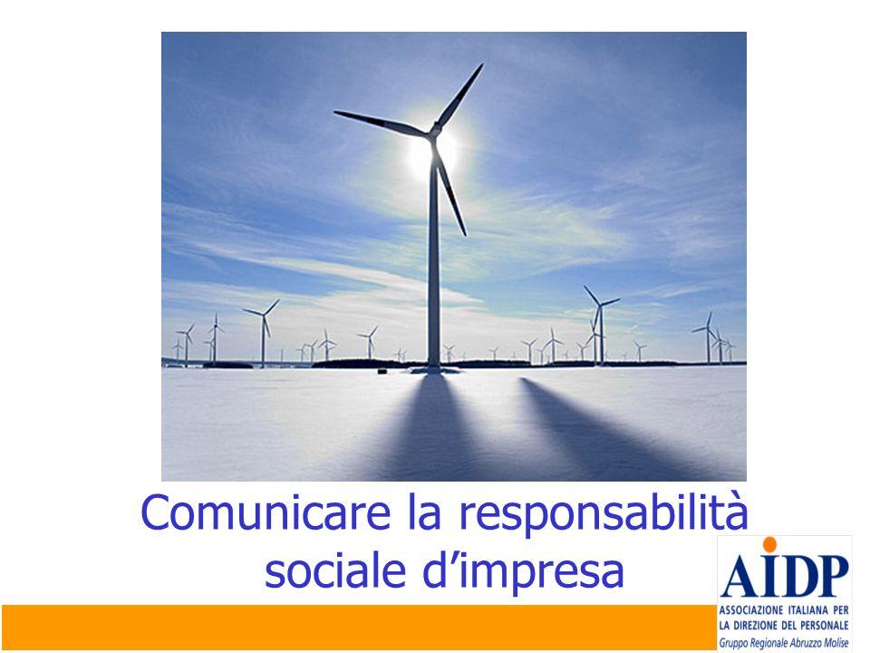 Comunicare la responsabilità sociale dimpresa
