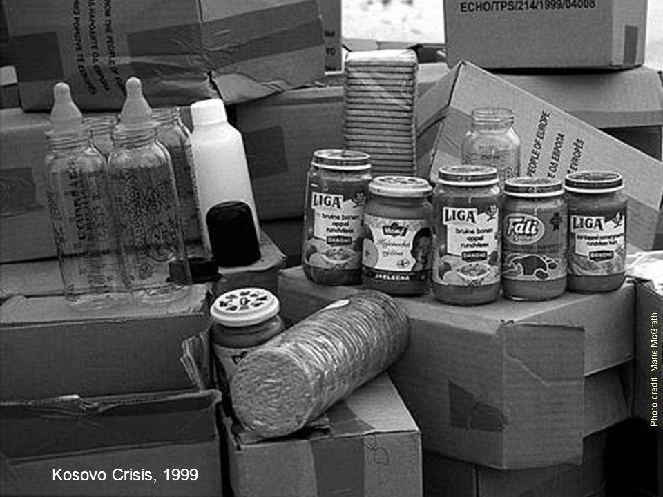 Photo credit: Marie McGrath Kosovo Crisis, 1999