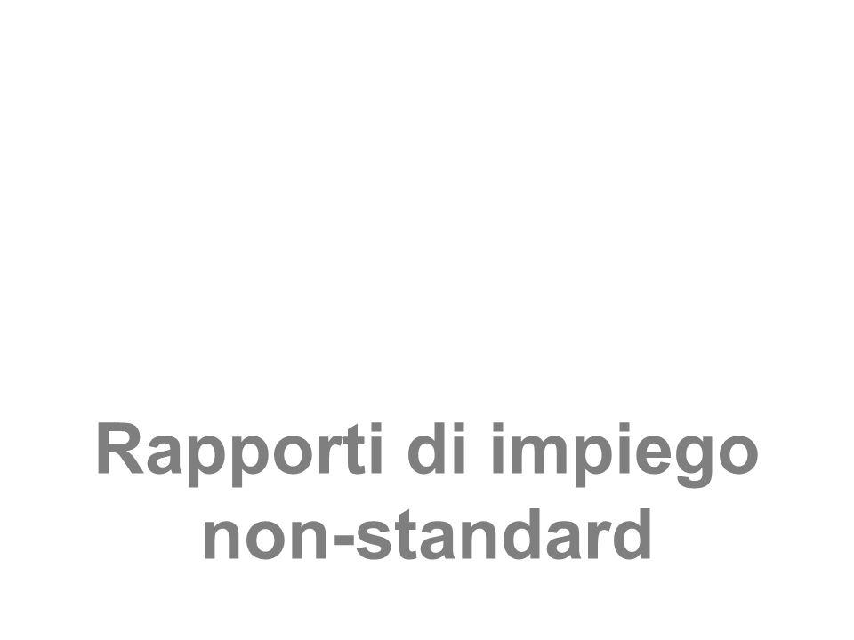 Rapporti di impiego non-standard