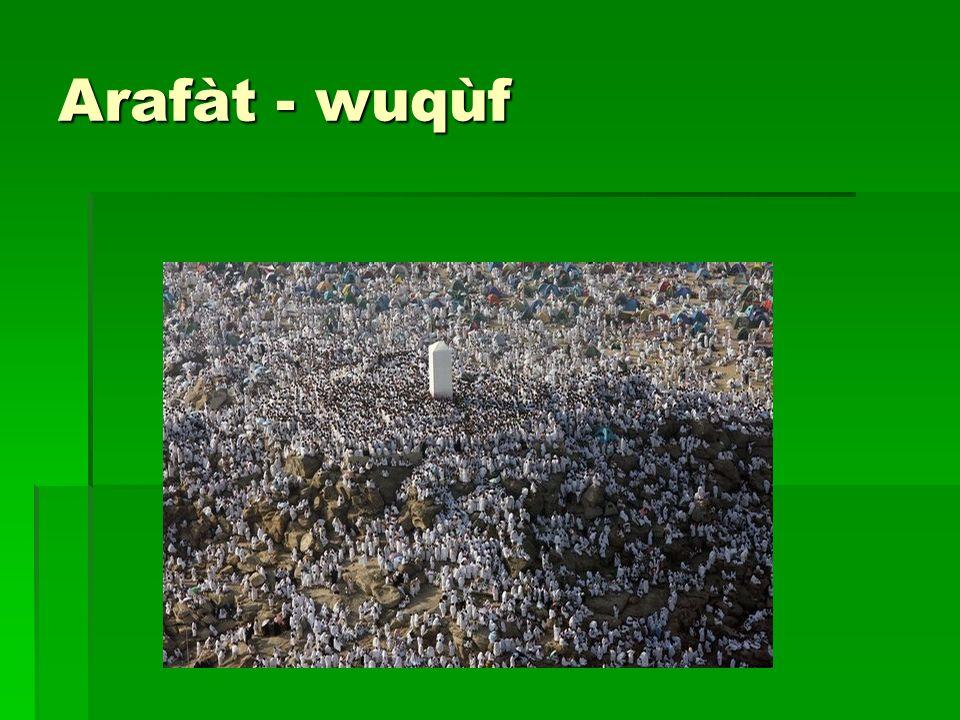 Arafàt - wuqùf