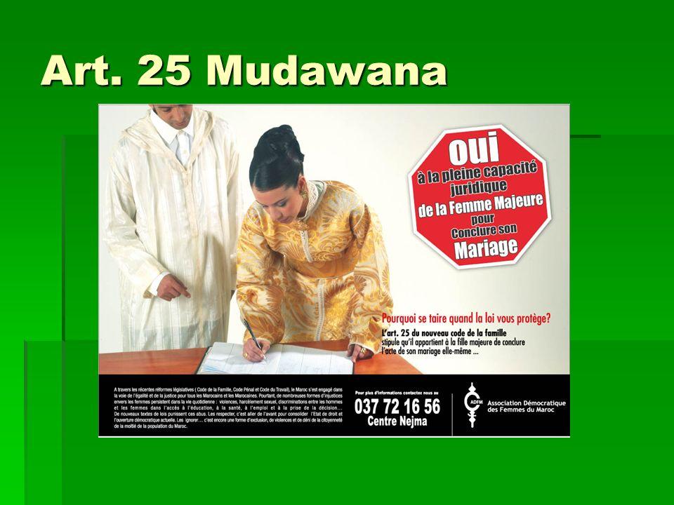 Art. 25 Mudawana