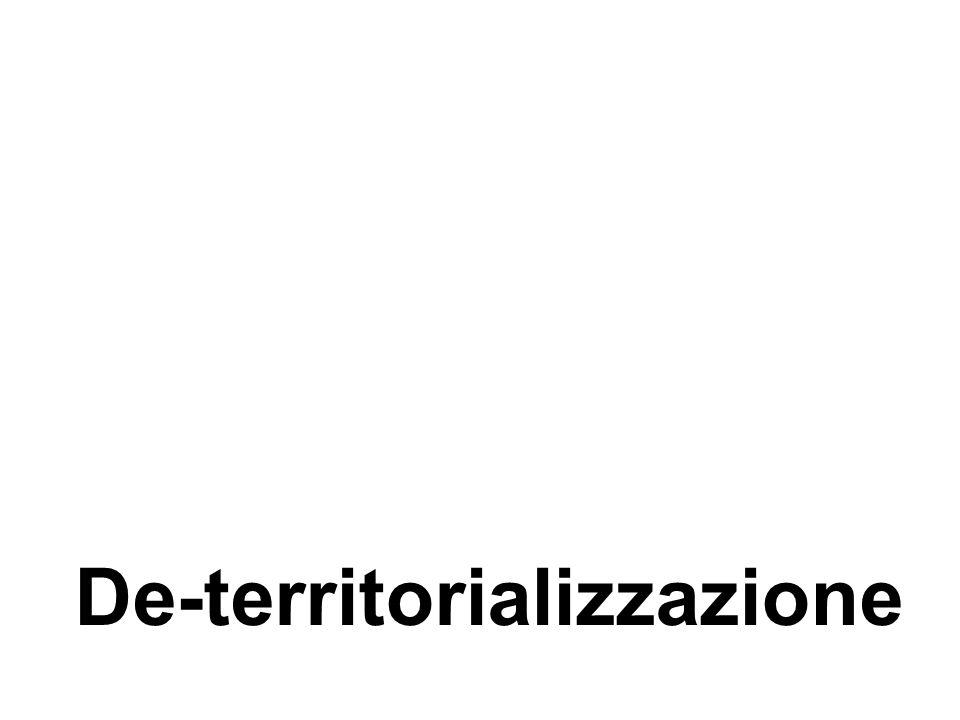 De-territorializzazione