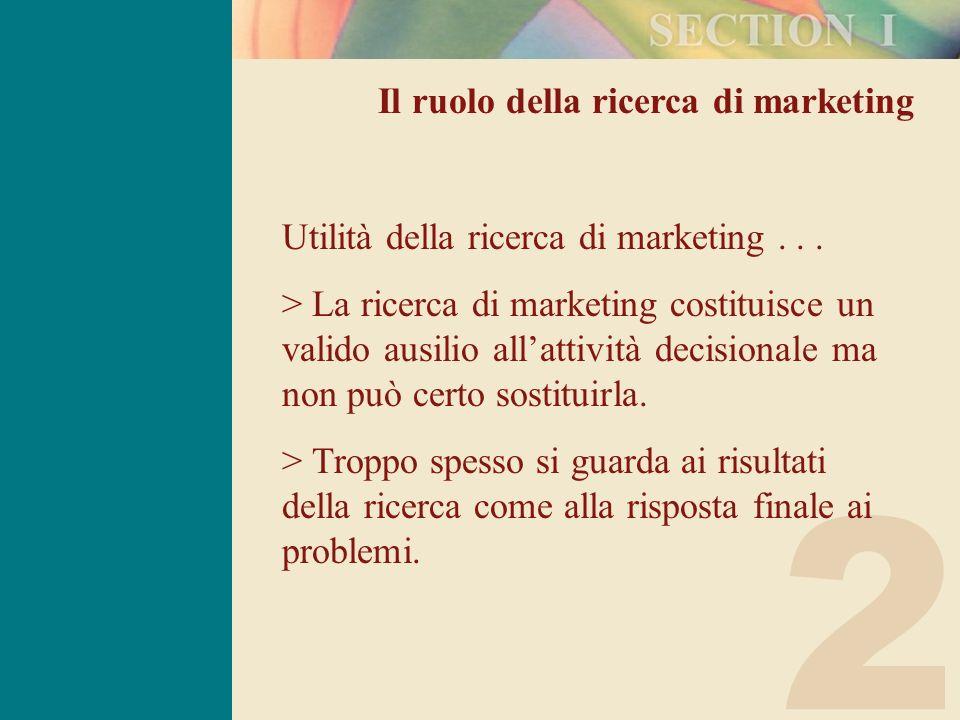2 Limiti della ricerca di marketing 1.Anche il progetto di ricerca più accuratamente controllato può nascondere delle insidie.