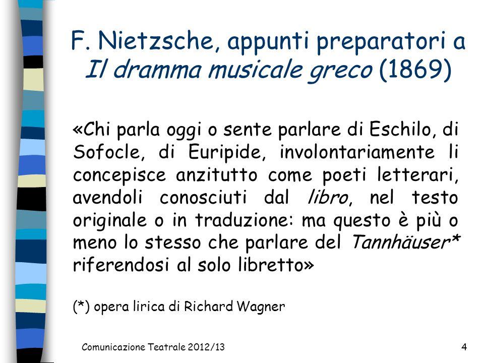 Comunicazione Teatrale 2012/134 F.