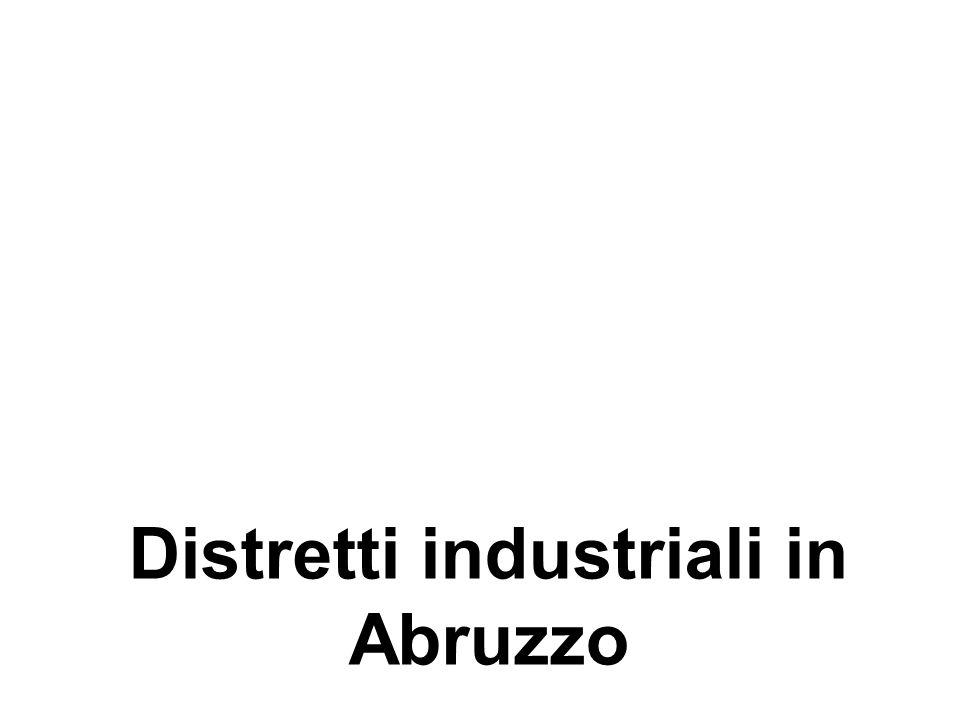 Distretti industriali in Abruzzo