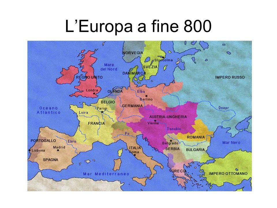 LEuropa del 1914