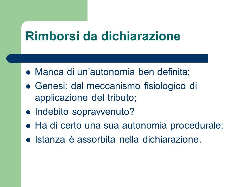 Fermi amministrativi su rimborsi Sospensione dei rimborsi (art.