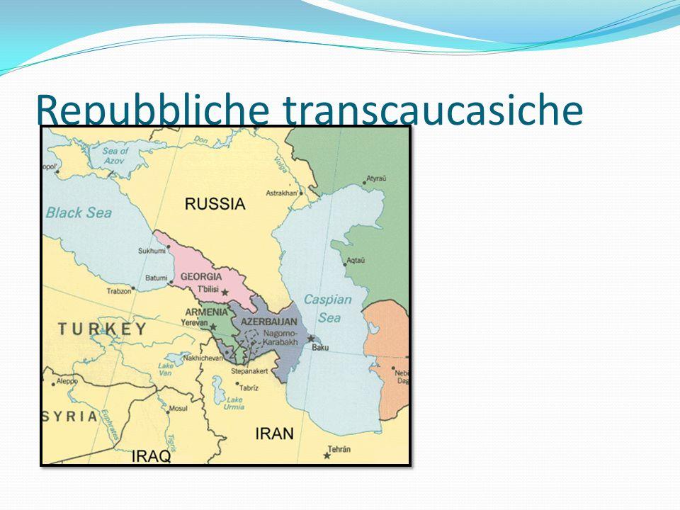 Repubbliche transcaucasiche
