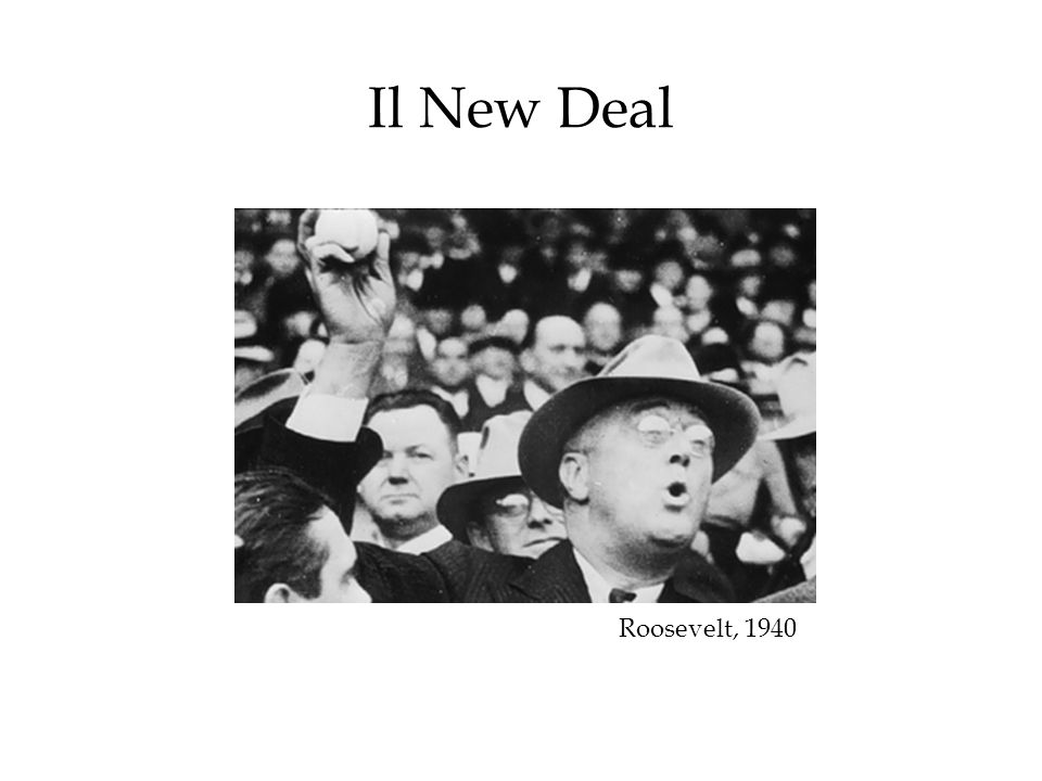 Il New Deal Roosevelt, 1940