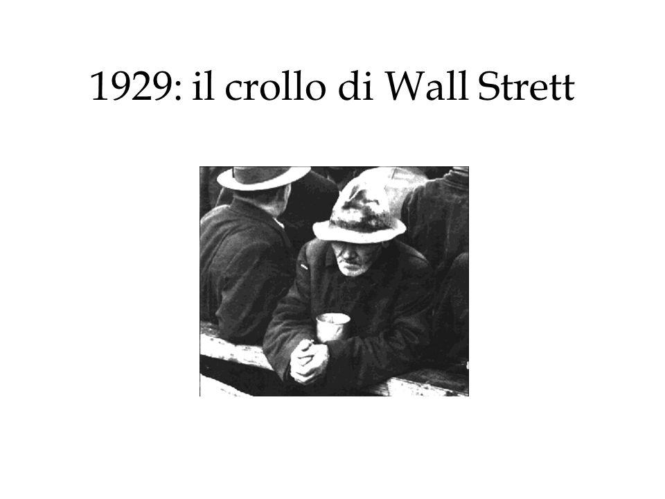 1929: il crollo di Wall Strett