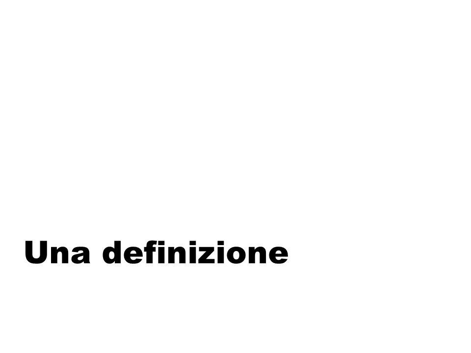 Una definizione