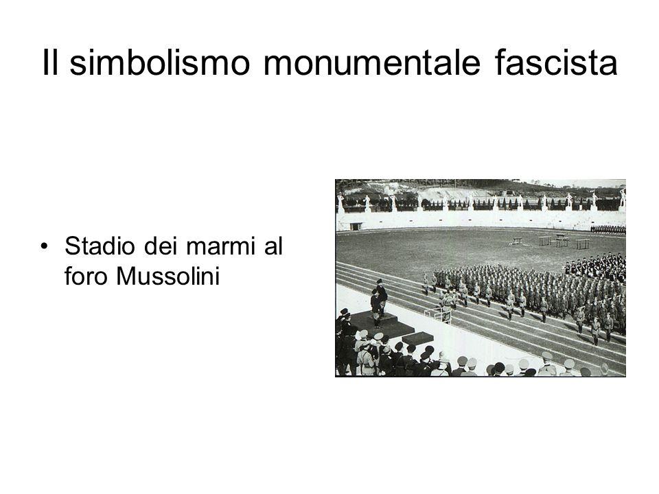 Stadio dei marmi al foro Mussolini