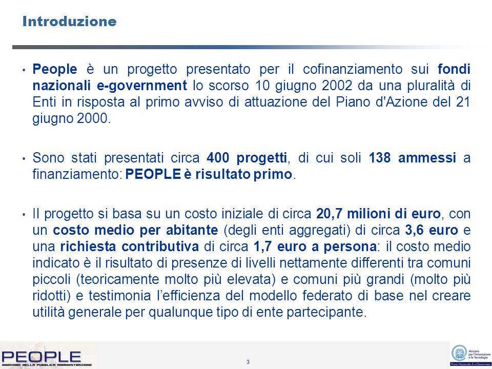 4 Lo scopo del progetto è quello di semplificare ed innovare i rapporti tra la Pubbliche Amministrazioni Locali ed il Cittadino.