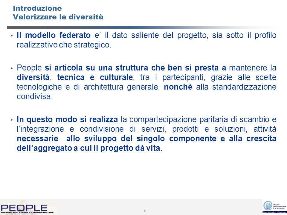57 Rapporti attivi con altri progetti Studiare Sigmater DocArea Apulie eLazio Polis Comune Amico ATOC SAC Rete Asmenet – (Asmez, 600 comuni)