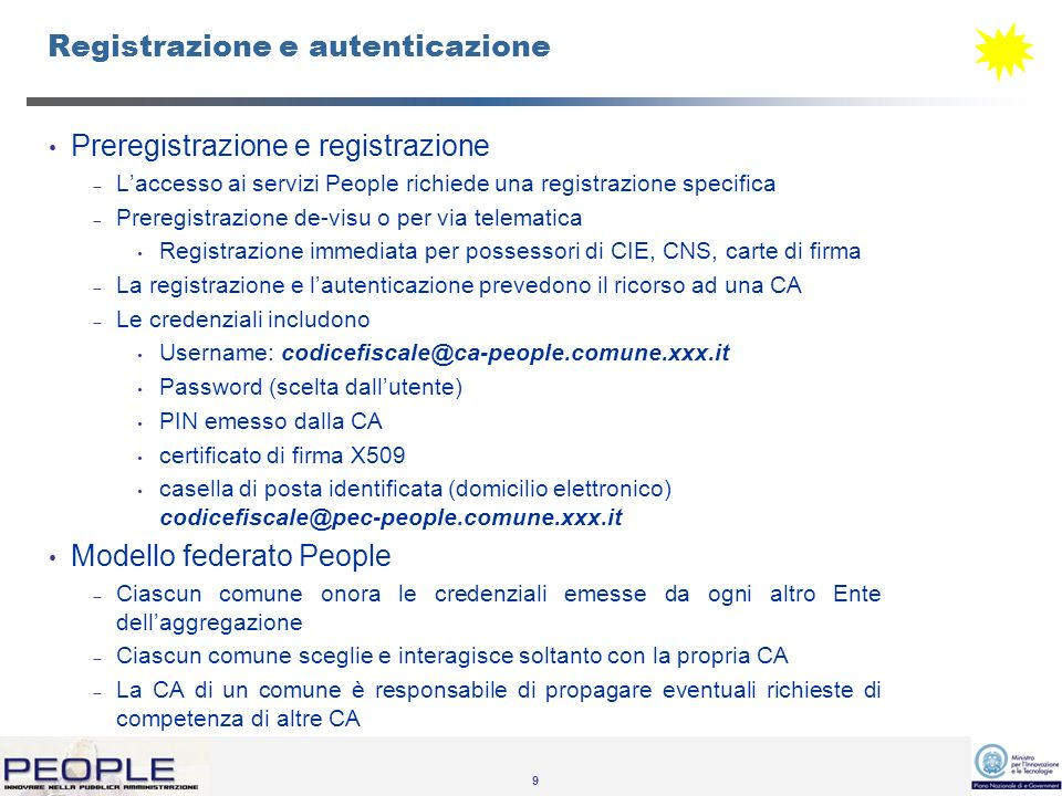 10 SiRAC: Gestione degli intermediari Intermediari.