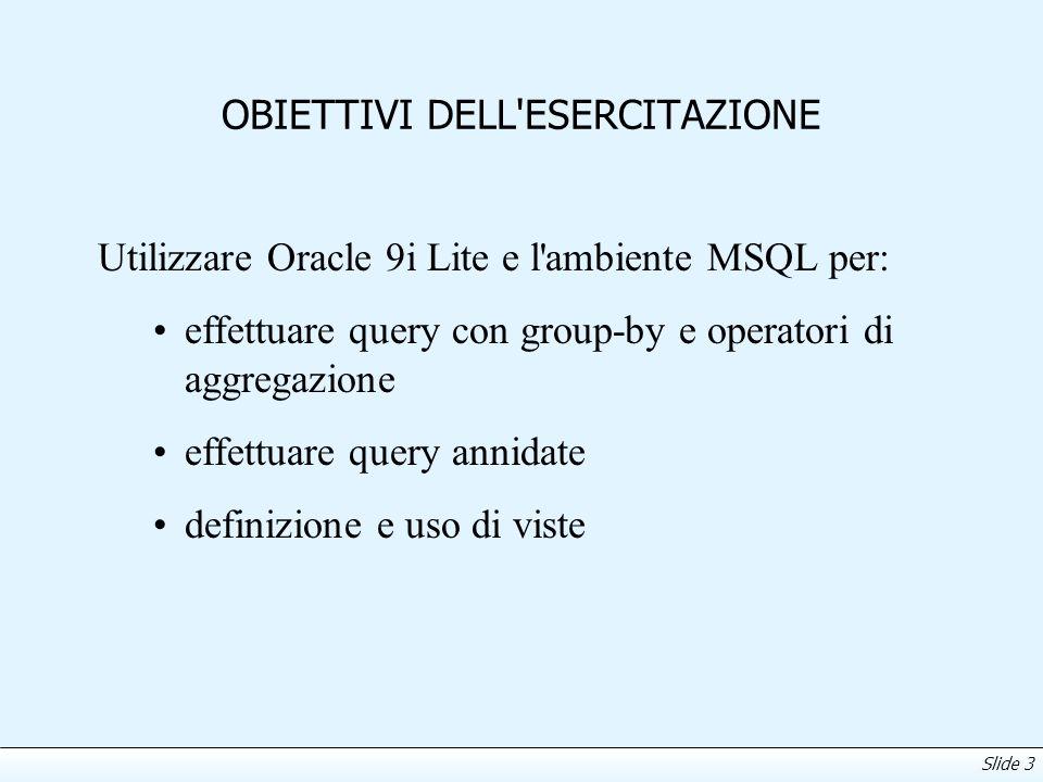 Slide 4 Oracle 9i Lite Informazioni su come 1.Scaricare Oracle 9i Lite, 2.