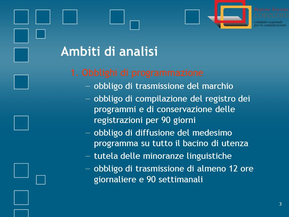 4 Ambiti di analisi 2.