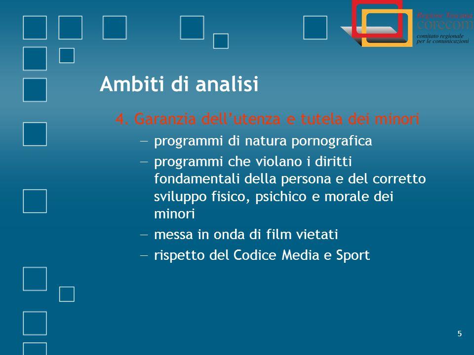 6 Il contesto italiano: una realtà variegata Circa 600 tv locali e 1500 radio locali Valle dAosta: 2 tv e 5 radio Sicilia: 103 tv e 212 radio
